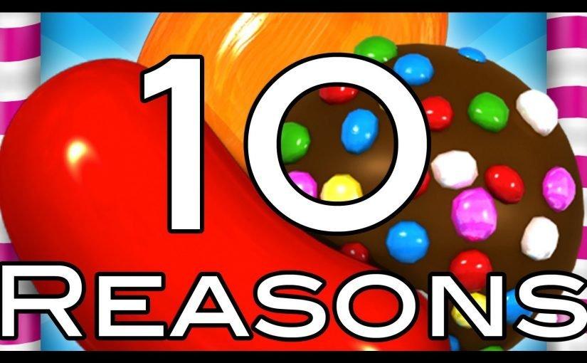 10 ragioni per non giocare a Candy Crush