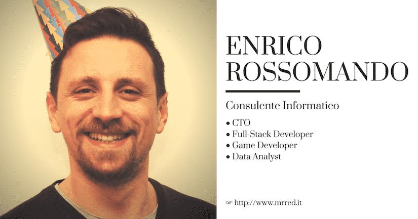 Sviluppatore di software web, mobile e videogiochi